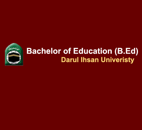 Bachelor of Education.(B.Ed)